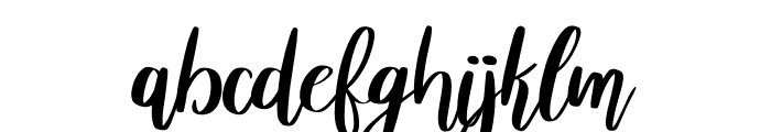 Abrianna Font LOWERCASE