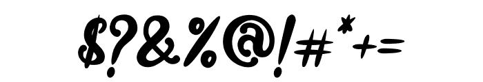 Absolute Joyful Font OTHER CHARS
