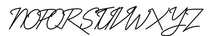 Absolute NeonScript2 Font UPPERCASE