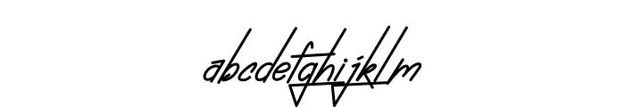 Absolute NeonScript2 Font LOWERCASE