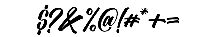 Absolute-Regular Font OTHER CHARS