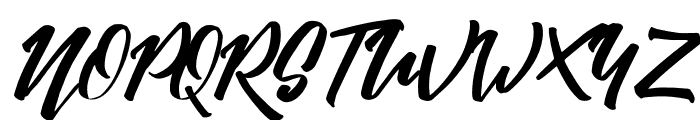 Absolute-Regular Font UPPERCASE