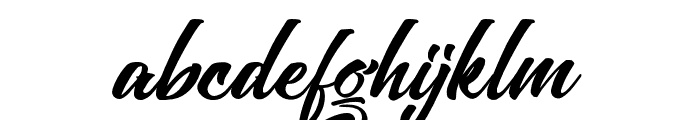 Absolute-Regular Font LOWERCASE