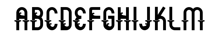 Aceh island style 1 Regular Font UPPERCASE