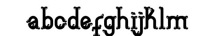 Aceh island style 2 Bold Font LOWERCASE