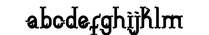 Aceh island style 2 Regular Font LOWERCASE