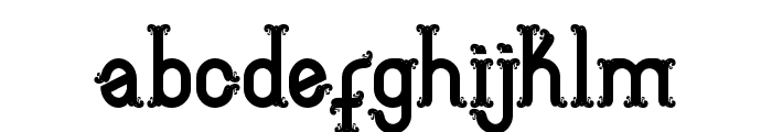 Aceh island style 3 Regular Font LOWERCASE