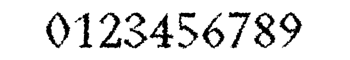 Achazia-Distorted Font OTHER CHARS