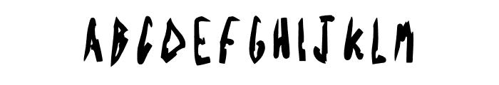 Acid Radio Bold Font UPPERCASE
