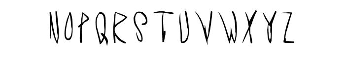 Acid Radio Light Font UPPERCASE