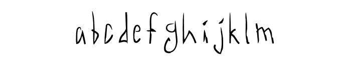 Acid Radio Light Font LOWERCASE