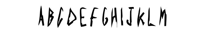 Acid Radio Regular Font UPPERCASE