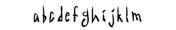 Acid Radio Regular Font LOWERCASE