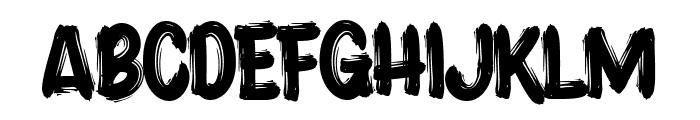 Acrylic Brush Font UPPERCASE