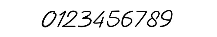 AdamScript Font OTHER CHARS
