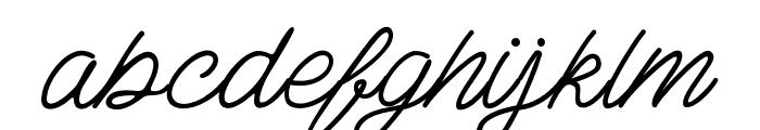 AdamScript Font LOWERCASE