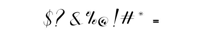 Adamenya Font OTHER CHARS