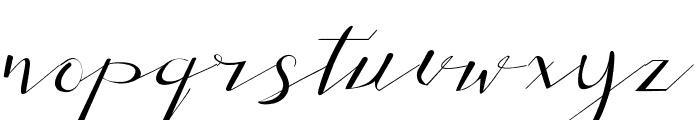 Adamenya Font LOWERCASE