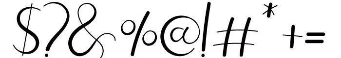 Adelaide Monogram Font OTHER CHARS