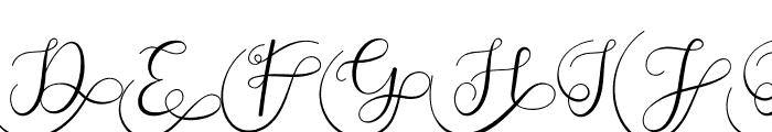Adelaide Monogram Font UPPERCASE