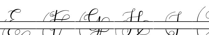 Adelaide Monogram Font LOWERCASE