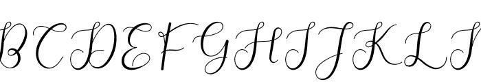 Adelaide Font UPPERCASE