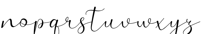 Adelaide Font LOWERCASE