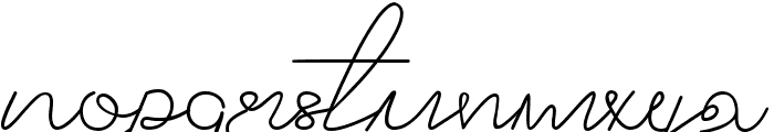 Adelle Font LOWERCASE
