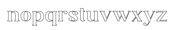 Adiwangsa-Outline Font LOWERCASE