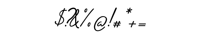 Adiwangsa-Script Font OTHER CHARS