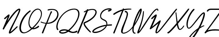 Adiwangsa-Script Font UPPERCASE