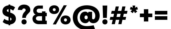 Adlinnaka Ultra Bold Font OTHER CHARS