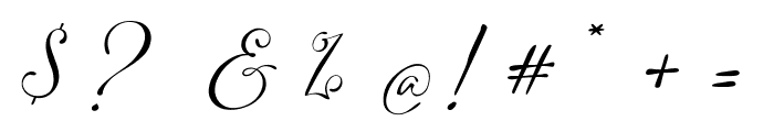 Adonessia Font OTHER CHARS