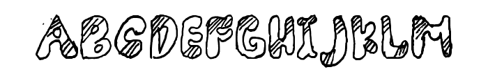 Adorable Quiling Regular Font UPPERCASE