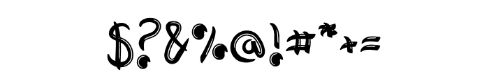 Adventura Font OTHER CHARS