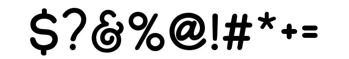 Adventure Island Sans Font OTHER CHARS