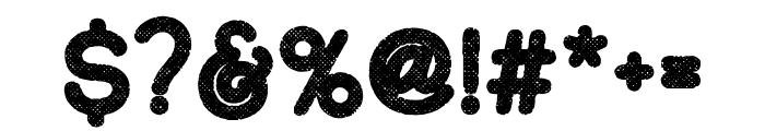 Adventure Island SansBoldHalftone Font OTHER CHARS