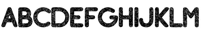 Adventure Island SansBoldHalftone Font LOWERCASE