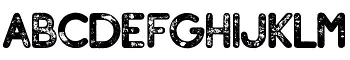 Adventure Island SansBoldPressed Font UPPERCASE
