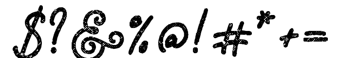 Adventure Island ScriptBoldHalftone Font OTHER CHARS