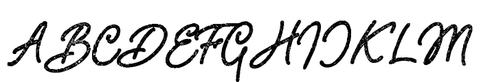 Adventure Island ScriptBoldHalftone Font UPPERCASE