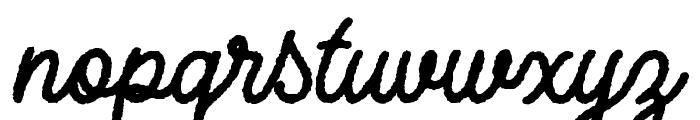 Adventure Island ScriptBoldRough Font LOWERCASE