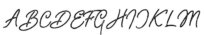 Adventure Island ScriptHalftone Font UPPERCASE
