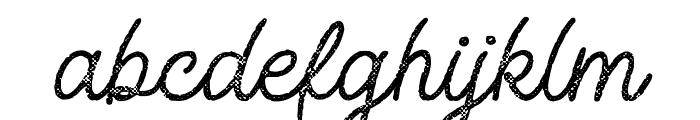 Adventure Island ScriptHalftone Font LOWERCASE