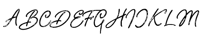 Adventure Island ScriptPressed Font UPPERCASE