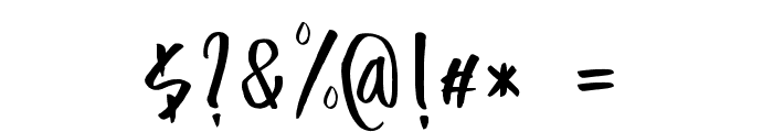 Adventure Font OTHER CHARS