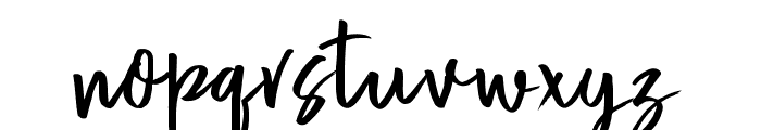 Adventure Font LOWERCASE