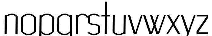 Advice regular Font LOWERCASE