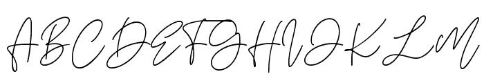 Aesthete Font UPPERCASE