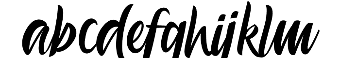 Aesthetic Gelatinate Font LOWERCASE